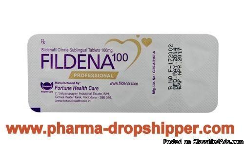 Fildena Professional (Sildenafil Citrate Softgel Capsule 100 mg) - Classified Ad
