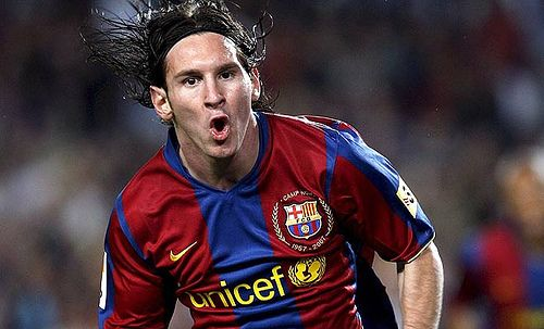Best Soccer Player in the World.....Even before he started winning the FIFA Player of the Year Award.
