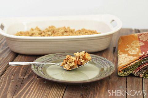 Baked pear breakfast casserole recipe