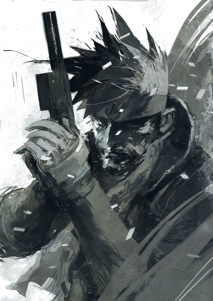The Dark, Moody Metal Gear Art of Ashley Wood                                                                                                                                                                                 More