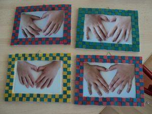 Coeur avec les mains de nos bouts d'choux