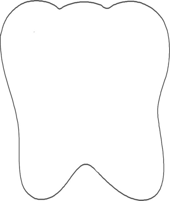 tooth shape for tooth fairy halloween costume