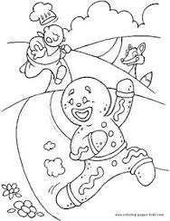 gingerbread clipart coloring pages christmas books snowman disney printable