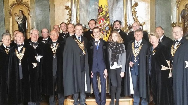 Habsburg Heir Installed as Knight in the Order of St. George