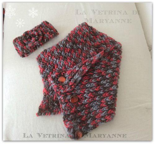 Scaldacollo e fascia per la testa http://lavetrinadimaryanne.wordpress.com