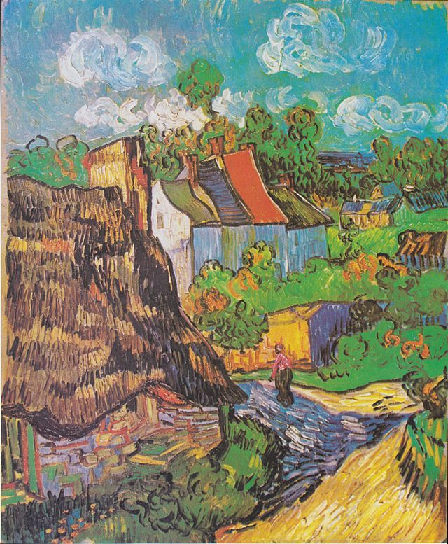 Van Gogh - Häuser in Auvers - Houses at Auvers - Wikipedia, the free encyclopedia