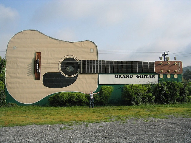 World's Largest Guitar by Roadchix, via Flickr