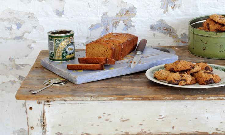 Ruby bakes: Prepare your sweet tooth for a double hit of golden syrup goodness in the form of chewy, chocolatey cookies and a comforting loaf cake