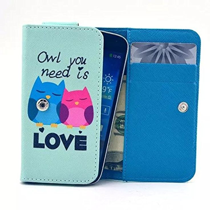 Alcatel Fierce XL Case,Baby Owls Pattern Universal Smartphone Flip Wallet Clutch Bag Carrying PU Leather Protective Cover Alcatel OneTouch Fierce XL 5.5-inch -- Awesome products selected by Anna Churchill