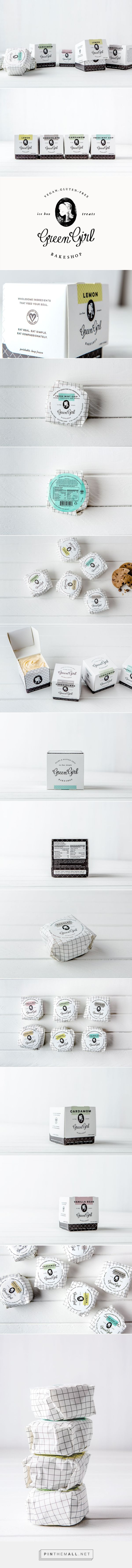 Green Girl Bakeshop Branding and Packaging by Nicole LaFave on Behance | Fivestar Branding – Design and Branding Agency & Inspiration Gallery