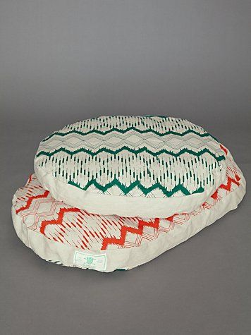 Dual Pattern Canvas Dog Bed #FreePeople
