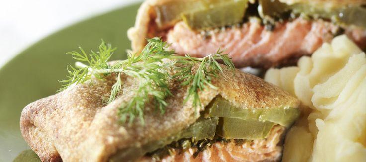 Kirjolohipalat ruiskuoressa | Pääruoat | Reseptit – K-Ruoka