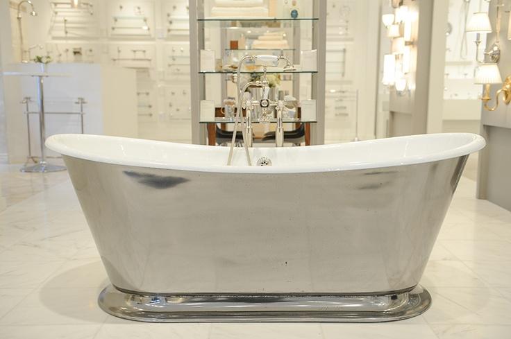 Margaux tub in the dallas showroom dallas showroom - Bathroom design showroom dallas tx ...