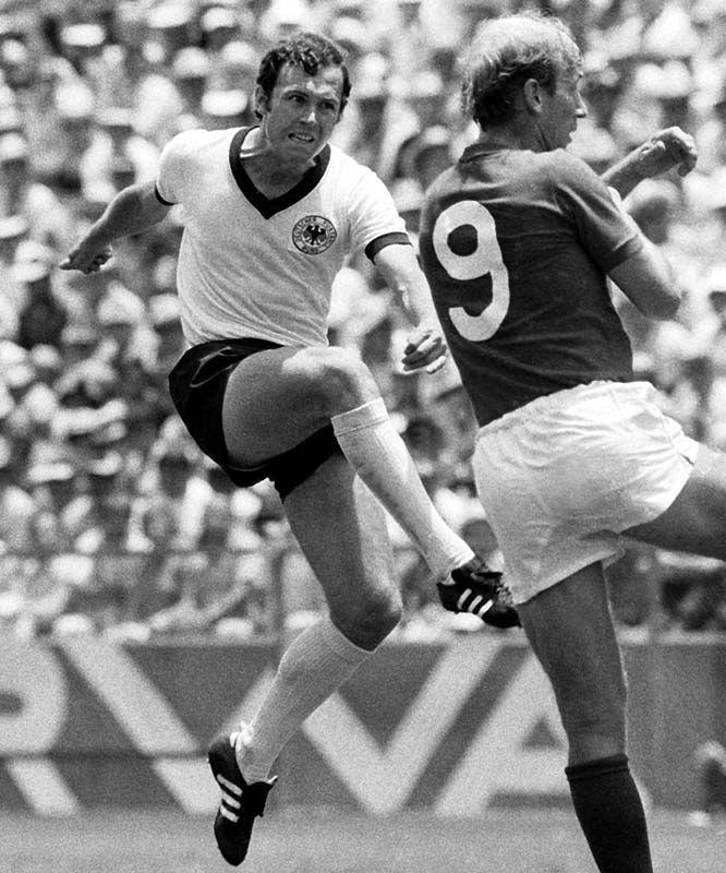 Franz Beckenbauer, 1970 World Cup