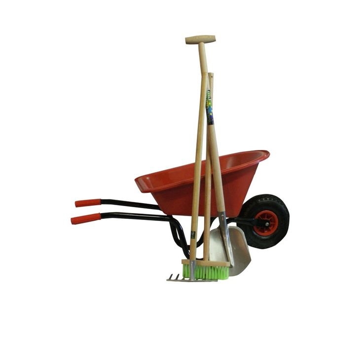 Childrens wheelbarrow with tools - Children Wheelbarrows - Wheelbarrows - Gardening