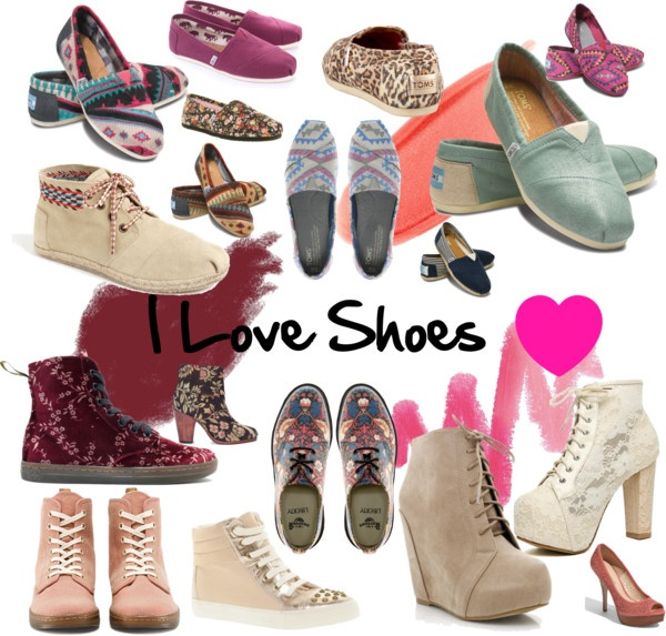 """I Love Shoes"" by nindyahkinasih on Polyvore"