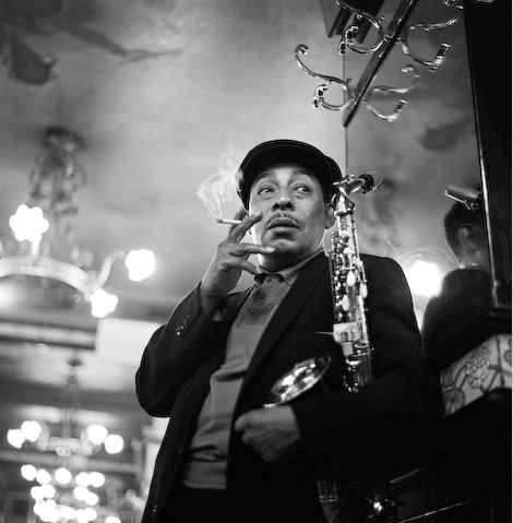 Johnny Hodges by Herman Leonard - Paris 1958
