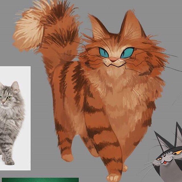 CATS, KIM YONG NAM on ArtStation at https://www.artstation.com/artwork/aLml8