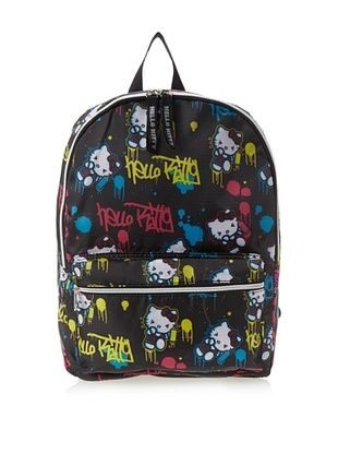 38% OFF FAB Starpoint Kid's Hello Kitty Graffiti A Backpack (Black/Multi)