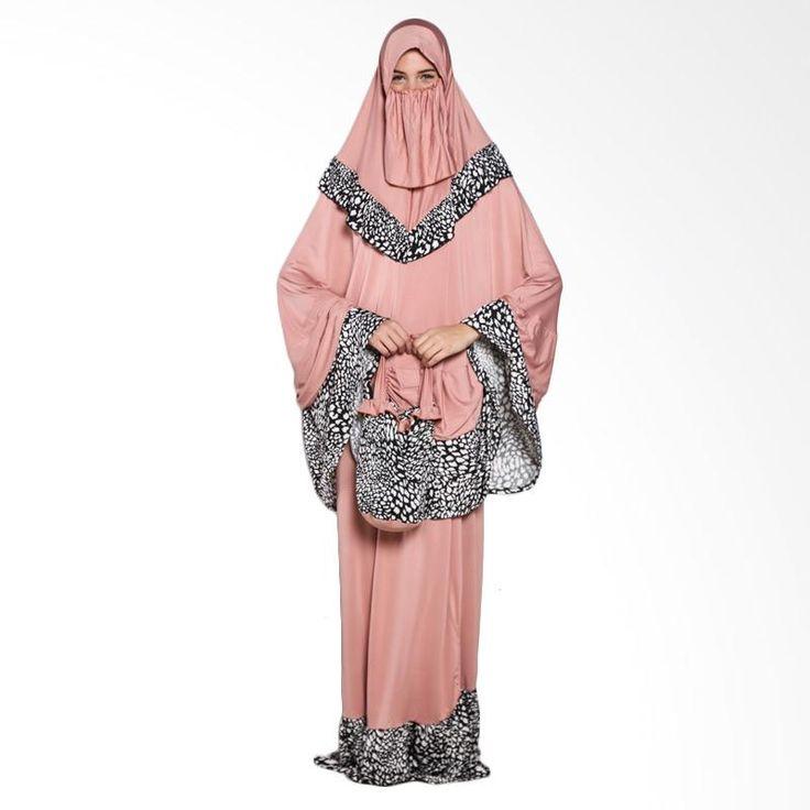 Yers 2 Barbie Mukena - Dusty Pink | Blibli.com
