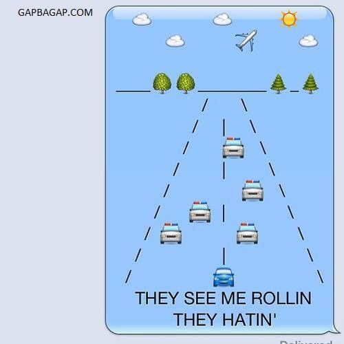 Hilarious Emoji Text Message LOL
