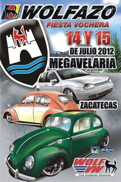 Poster para evento vw