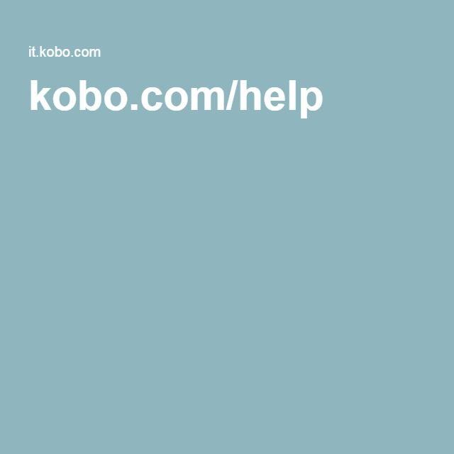 Usare il tuo Kobo Aura