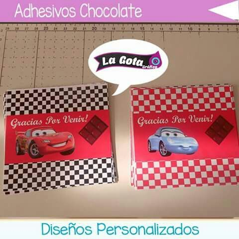 Adhesivos para decorar Chocolates