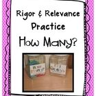 Rigor & Relevance Estimation Container Labels:    Use for Rigor & Relevance practice or any simple estimation practice your class is doing!    Than...