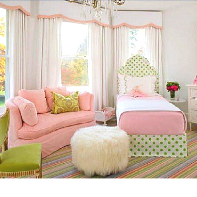 Image result for green polka dots brocade curtain bed