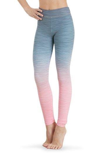 74d70058b16da Bloch Gradient Mid Rise Leggings | Bloch | Class Shorts & Pants ...