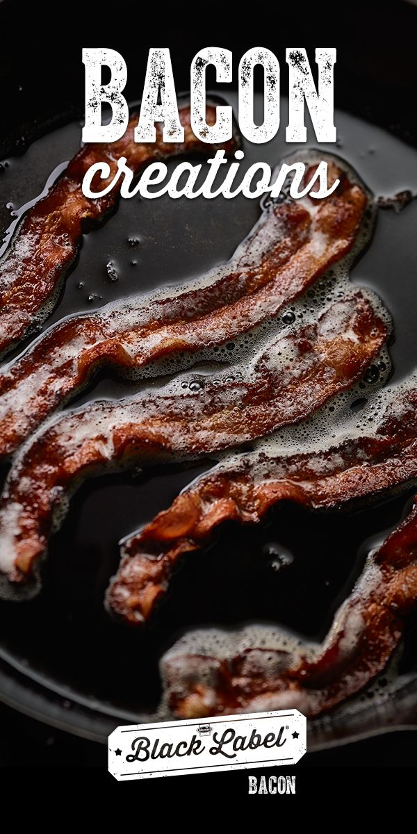 Literally anything is possible if you believe. And bacon. Here's a collection of our favorite Black Label®Bacon Creations.