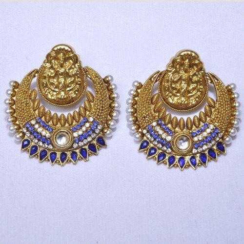 Traditional Ramleela Style Earrings Coupon Code use: CVAG1H2227