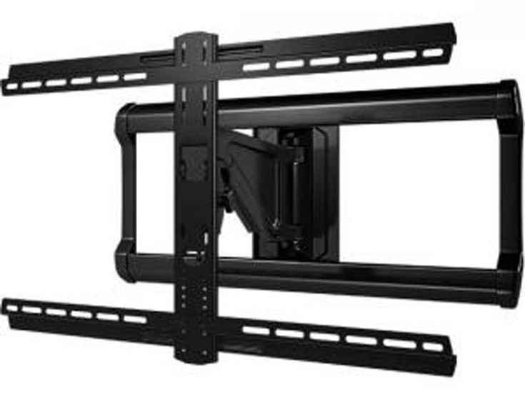 black friday ultrathin universal full motion tv wall mount universal brackets fit most flatpanel tvs includes a 3 year warranty from sanus - Wall Mounts For Tv