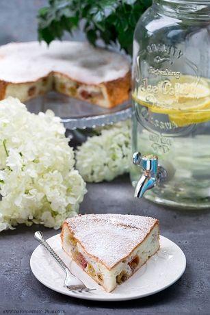 Anielskie ciasto z agrestem (Angel Food Cake)