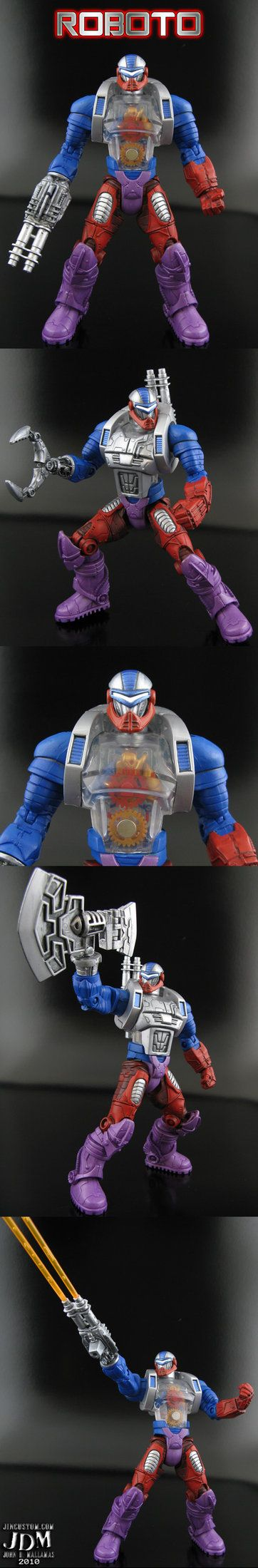 Domo arigato Mr Roboto by Jin-Saotome