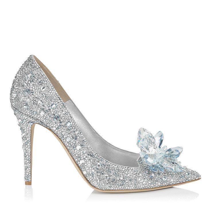 Crystal Covered Pointy Toe Pump 'Cinderella Slipper' | Cinderella | Exclusive | JIMMY CHOO