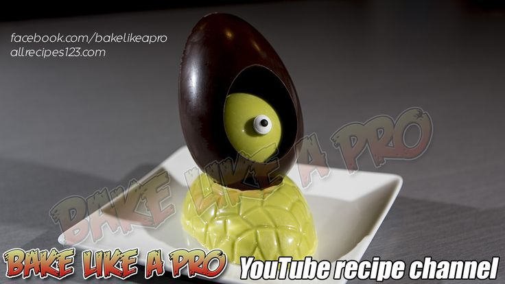 Chocolate Alien Easter Egg Tutorial CLICK to watch my video on YouTube