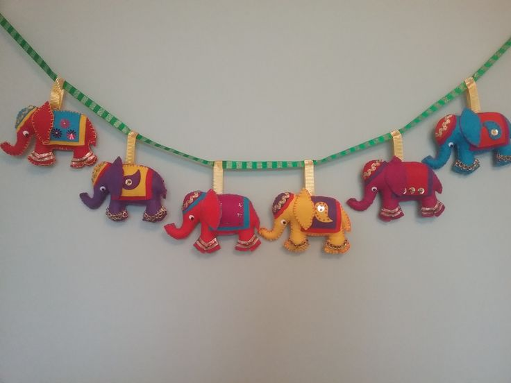 This wall hanging was a special order but could be made in different colours.