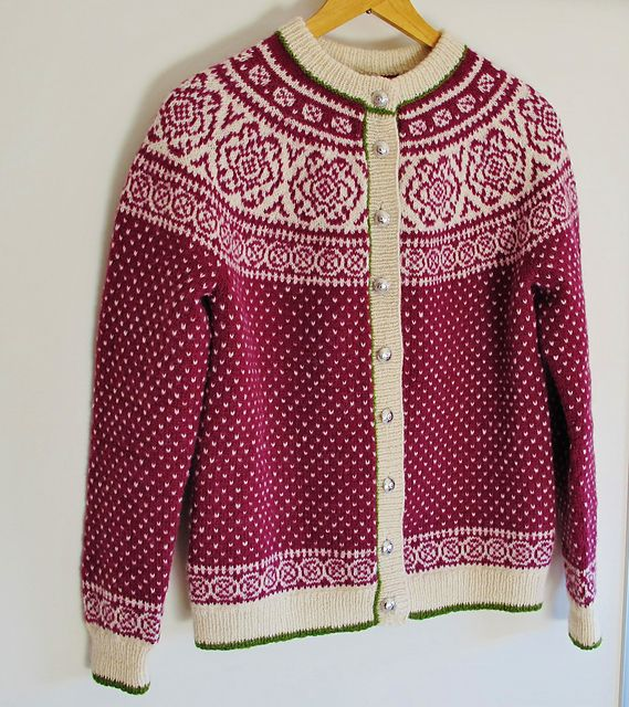 662 best Knitting Fair Isle - Rundfelling og raglanfelling images ...