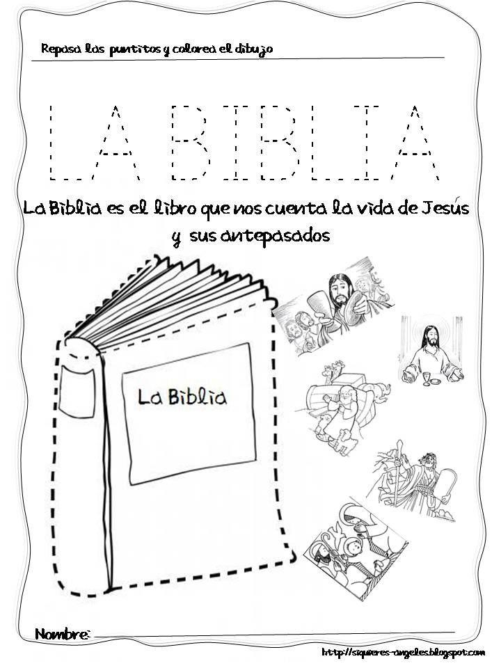 Fantástico Hoja Para Colorear Biblia Motivo - Páginas Para Colorear ...