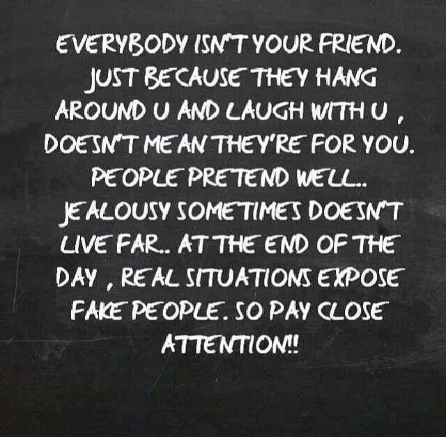 Friendship, Trust, Loyalty