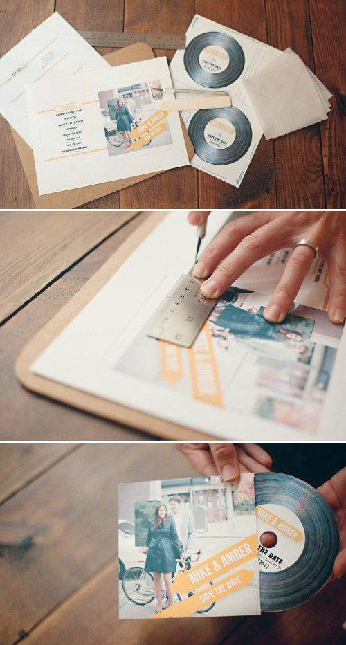 The Mix Tape / 36 Cute And Clever Ways To Save The Date