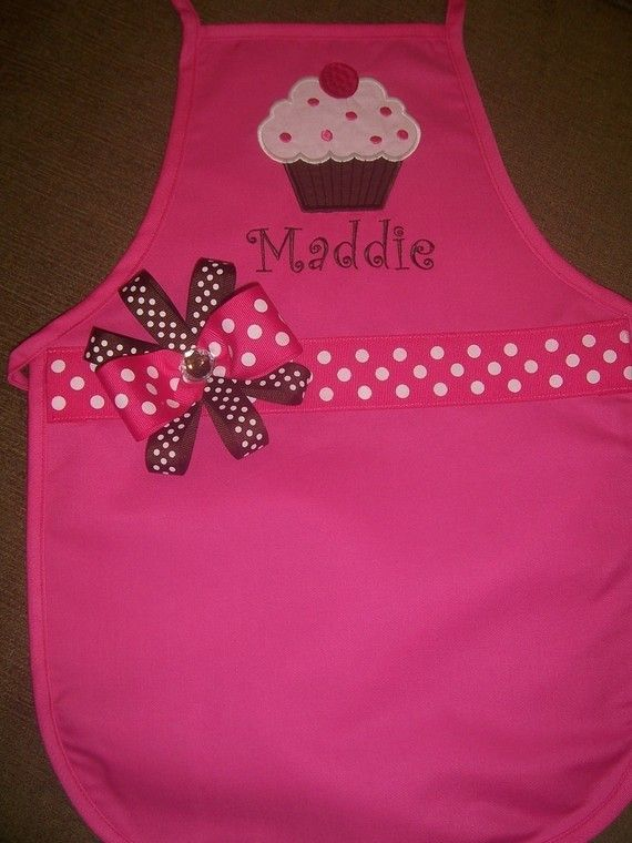 Cupcake Bakery Party Aprons ... but I will DIY