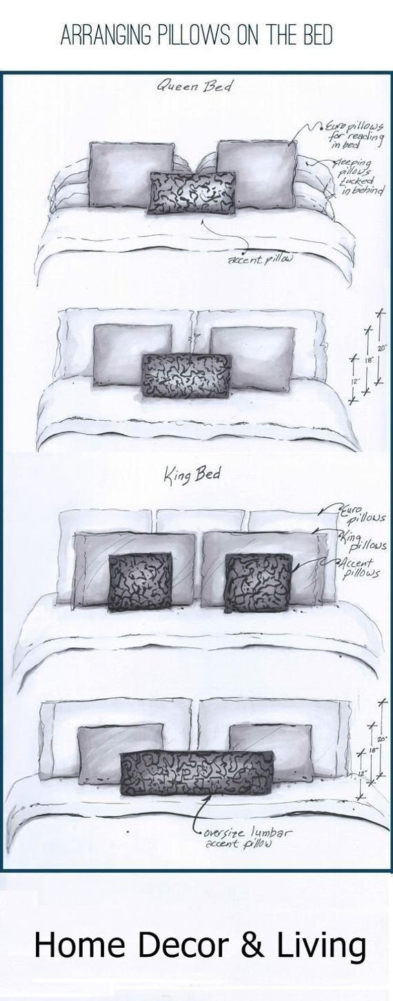 Designer Pillow Cover, White Cushion, Black Monogram Pillow Cases, Gift For Girl Friend/Her