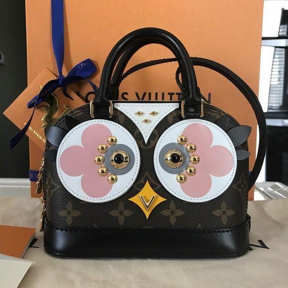 Louis Vuitton Handbags - Louis Vuitton owl nano alma crossbody bag ... 7b61b0fee33d6