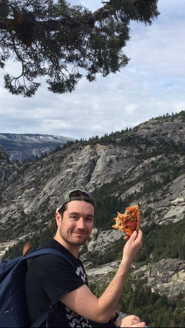 Dream date: Yosemite, Dan Smith, and pizza
