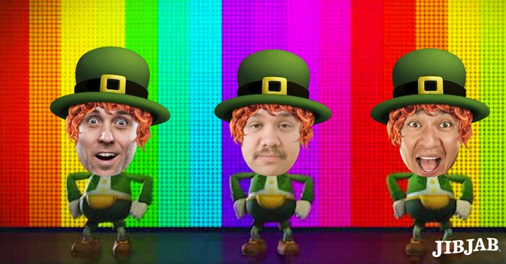 Leprechaun Rap!  Cast up to five friends in this hilarious St. Paddy's Day video… with JibJab!