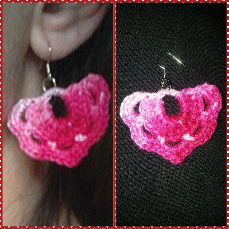 Pap de brincos de croche / Crochet earrings pattern