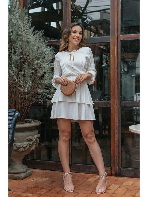 a515304c4 Vestido Viscose Geyza Off Vestido Chemise, Estação Store, Veados, Vestido  Curto, Modelagem